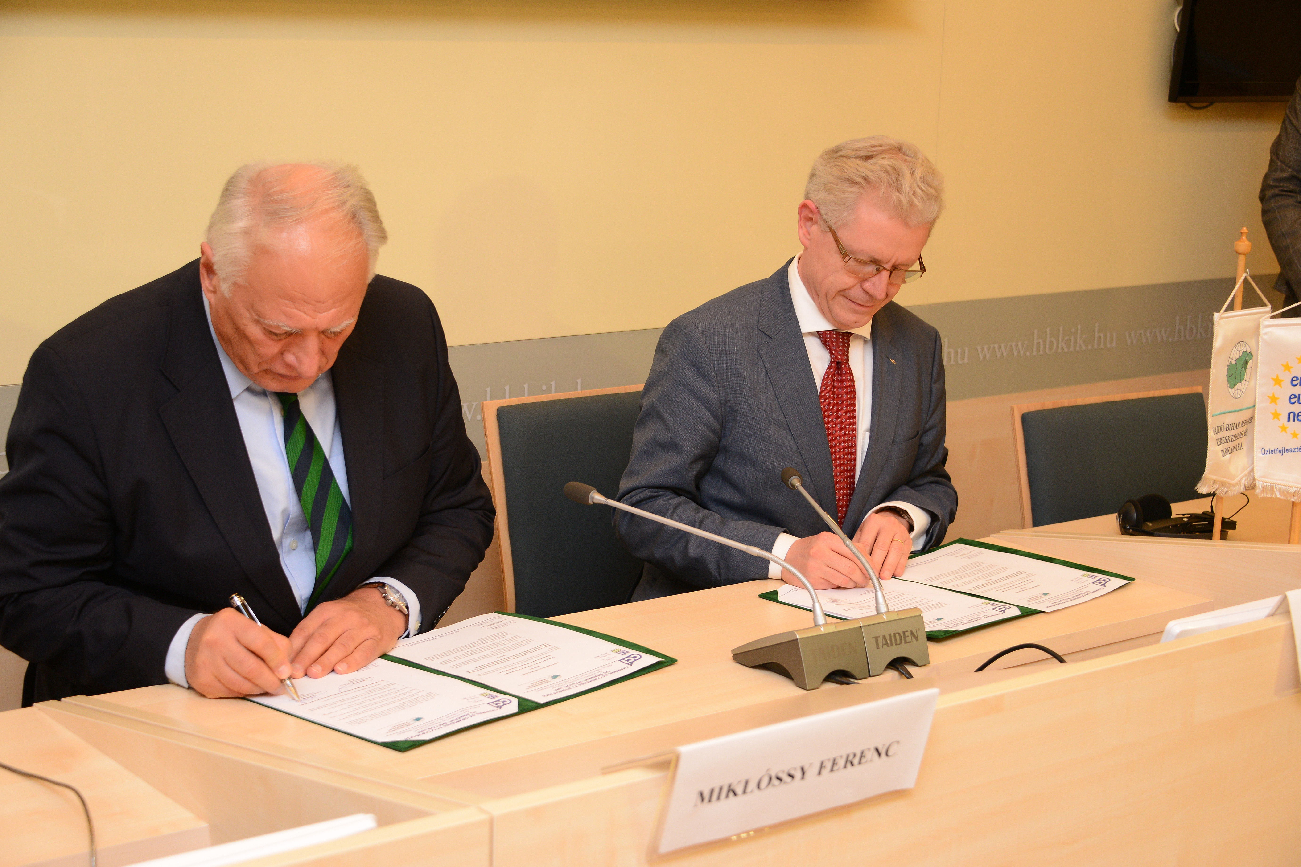 Ccibw debrecen accord signature ccibw chambre de - Chambre de commerce et d industrie du havre ...