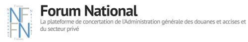 FORUM NATIONAL DES DOUANES