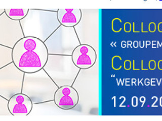 "INVITATION / UITNODIGING 12.09.2017 - Colloque ""Groupement d'emp"
